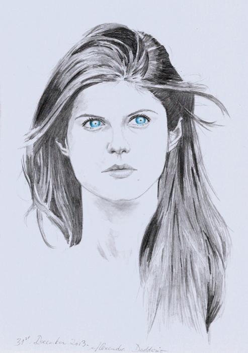 Alexandra Daddario by brocklesnarsneck